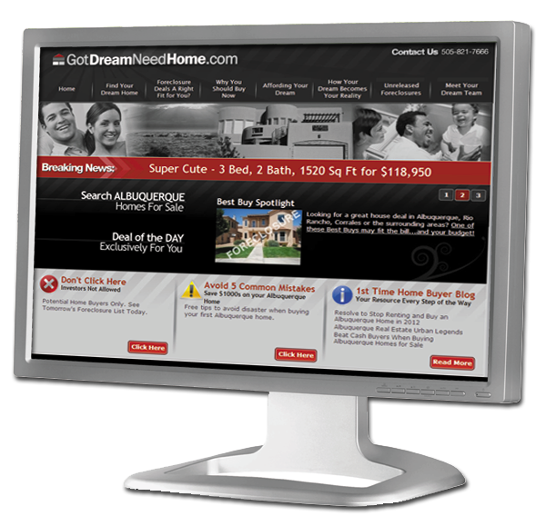 GotDreamNeedHome.com - Albuquerque 1st Time Home Buyer Resources